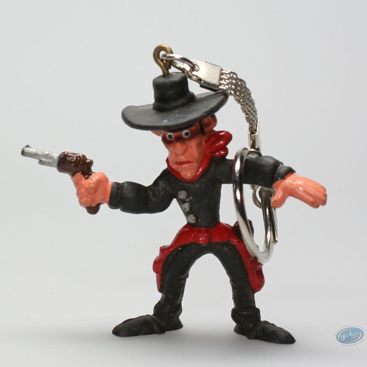 Plastic Figurine, Lucky Luke : Keyring Sam Bass