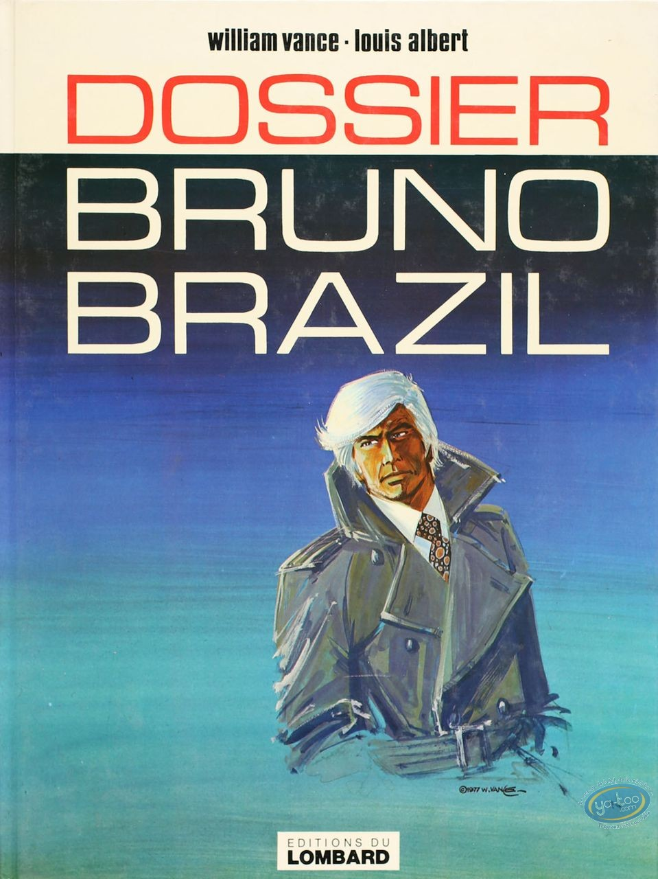 Listed European Comic Books, Bruno Brazil : Dossier Bruno Brazil (very good condition)