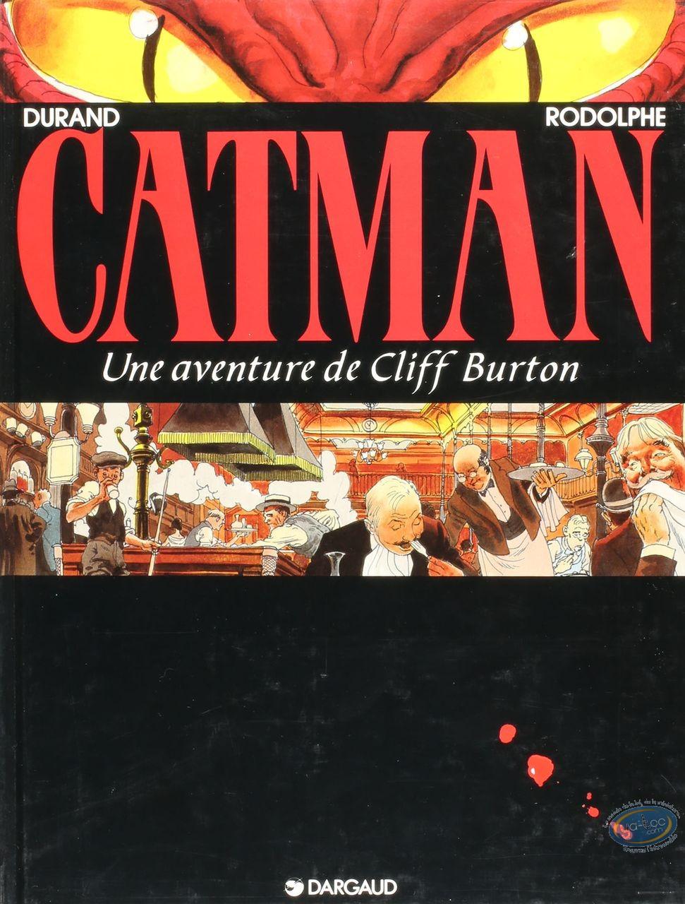 Listed European Comic Books, Cliff Burton : Catman