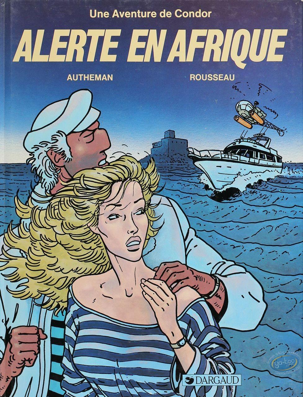 Listed European Comic Books, Condor : Alerte en Afrique (good condition)