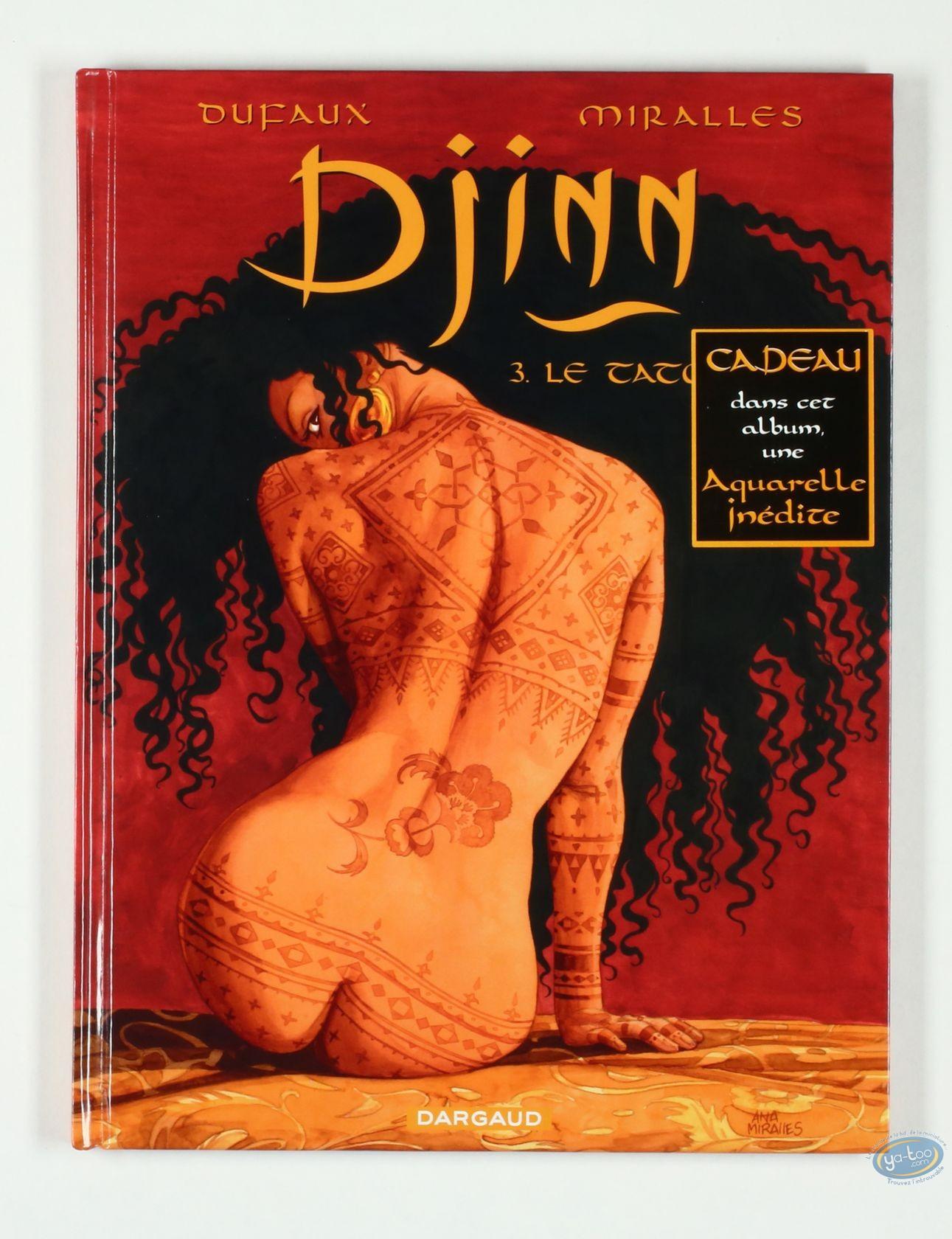 Listed European Comic Books, Djinn : Le Tresor (very good condition)