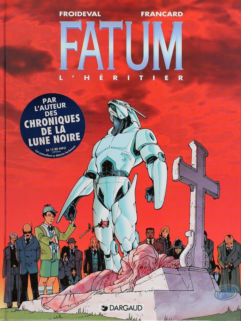 Listed European Comic Books, Fatum : L'Heritier (very good condition)