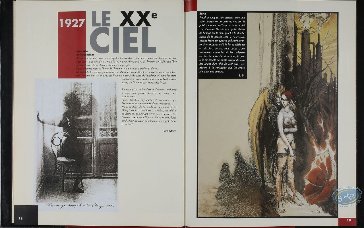 Reduced price European comic books, Xxème Ciel (Le) : Introduction au XXème ciel