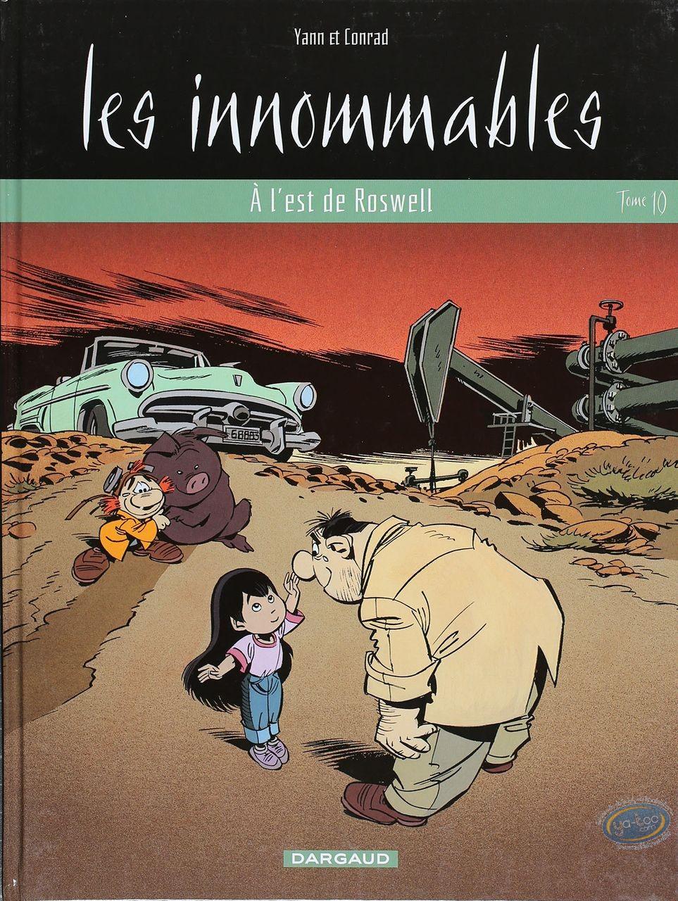 Listed European Comic Books, Innommables (Les) : A L'est de Roswell
