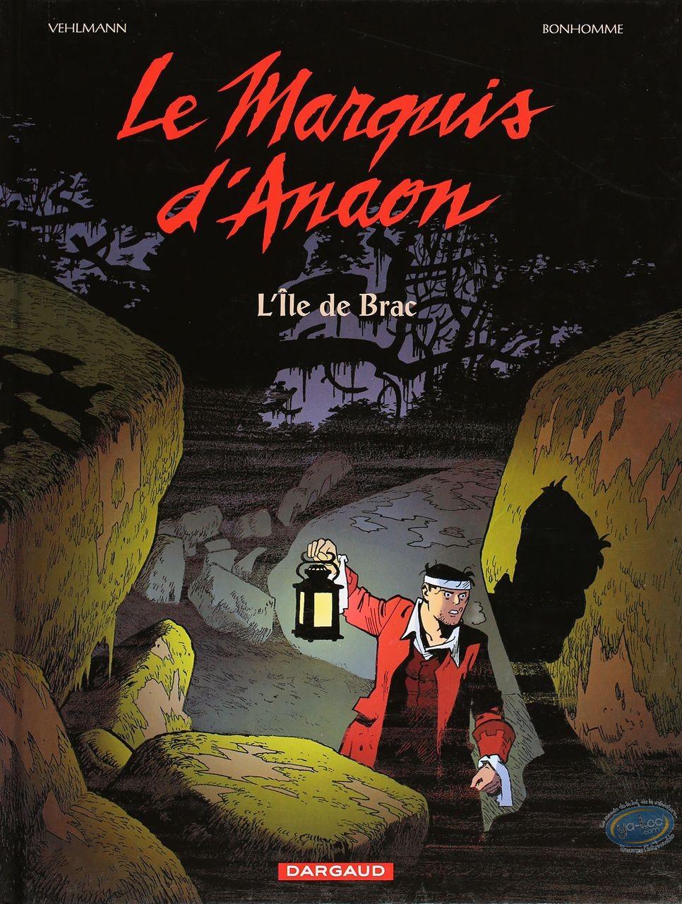 Listed European Comic Books, Marquis d'Anaon (Le) : L'ile de Brac (very good condition)