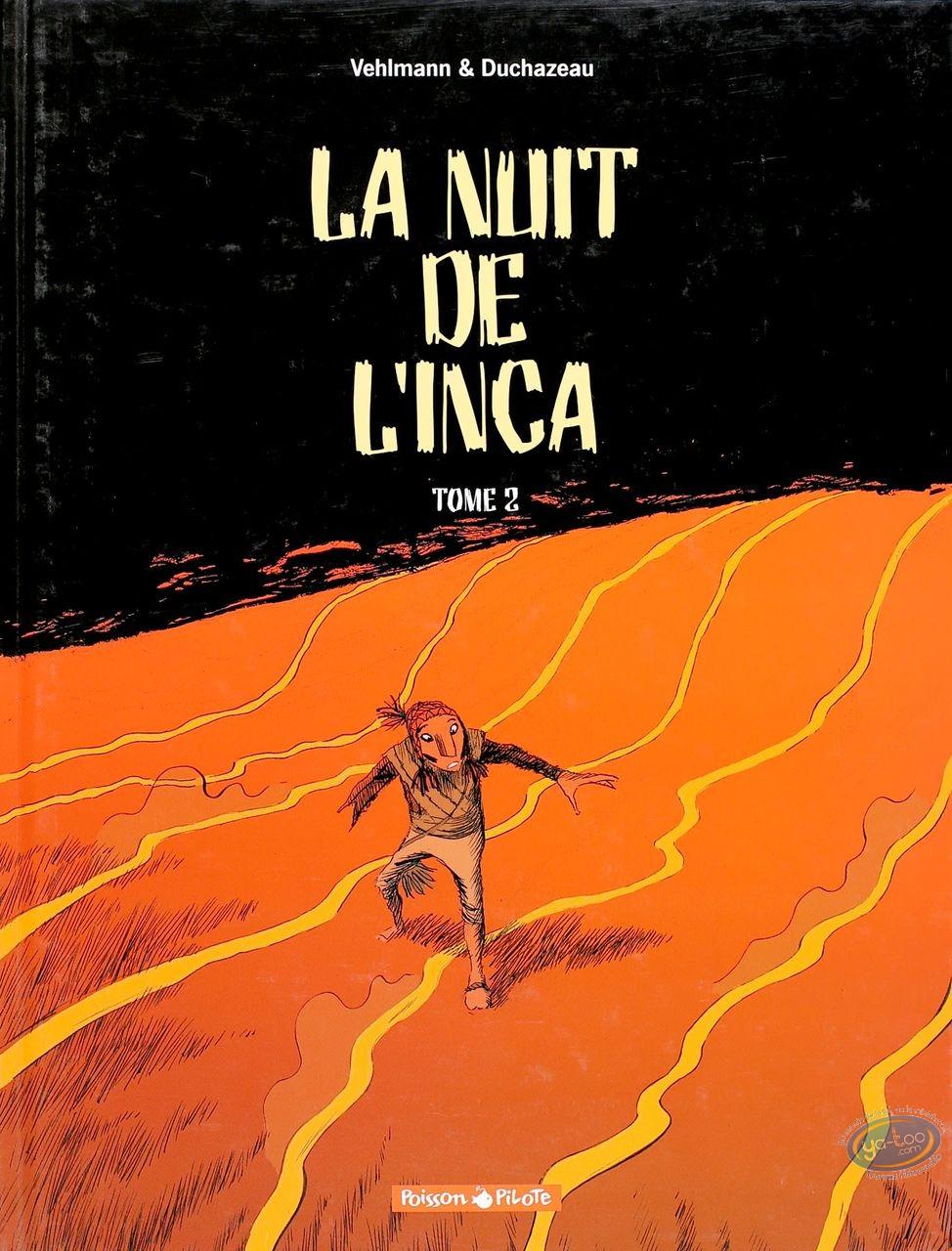 Listed European Comic Books, Nuit de l'Inca (La) : La Nuit de l'Inca