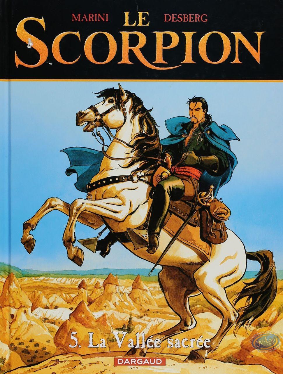 Listed European Comic Books, Scorpion (Le) : La Vallee sacree (nearly good condition)