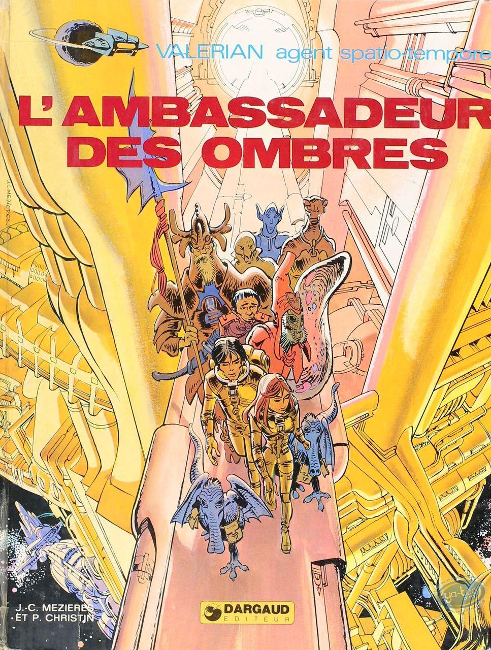Listed European Comic Books, Valérian : L'Ambassadeur des Ombres (medium condition)