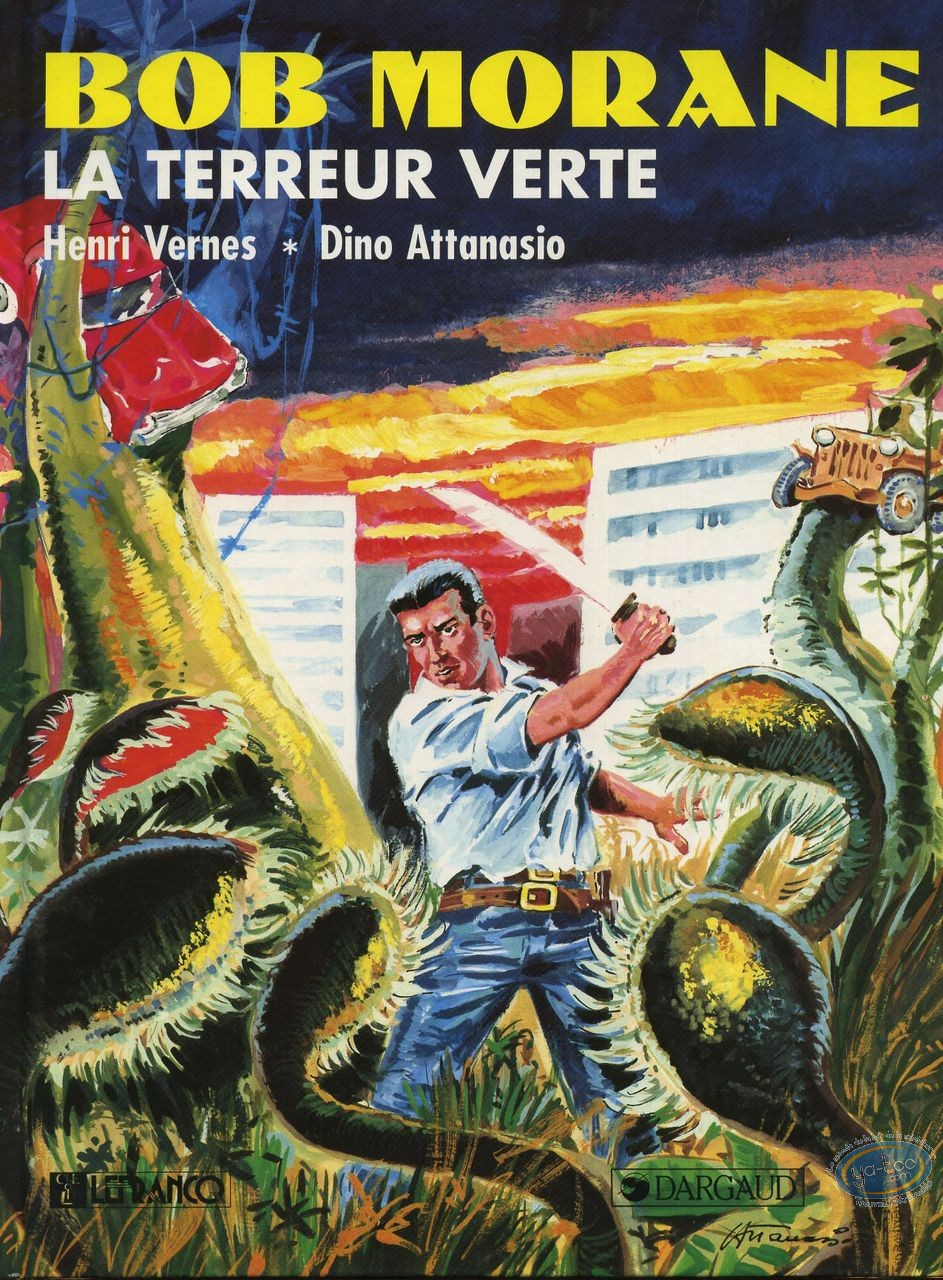 Reduced price European comic books, Bob Morane : La terreur Verte