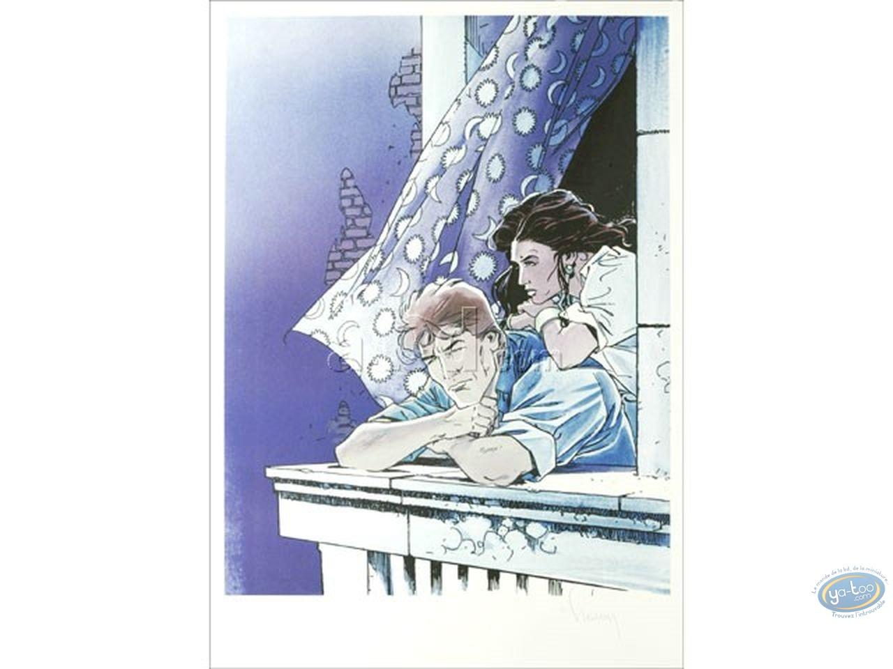 Offset Print, Largo Winch : The Balcony