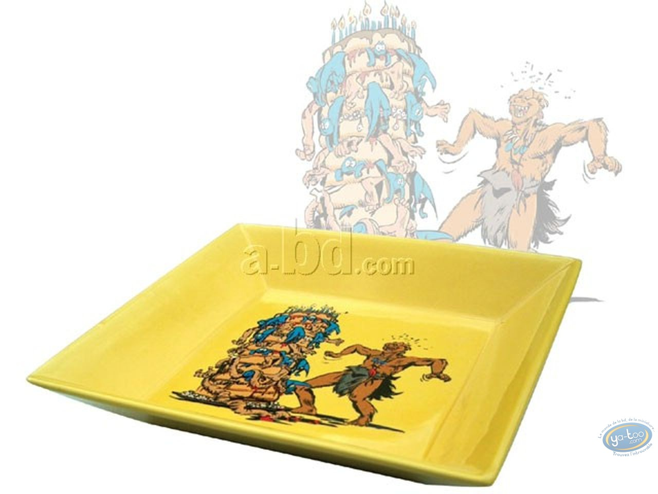 Tableware, Trolls de Troy : Pin tray,Trolls
