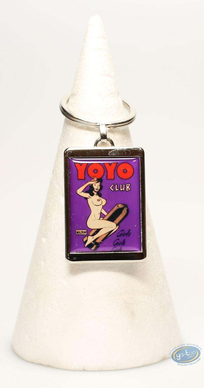 Keyring, Yoyo club : Metal keyring, Yoyo club