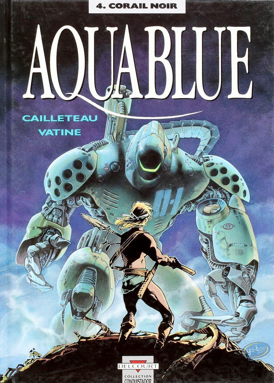 Listed European Comic Books, Aquablue : Corail Noir (+ bookplate)