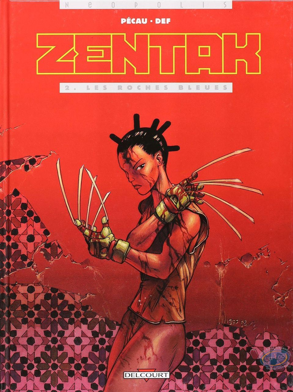Listed European Comic Books, Zentak : Les roches bleues (very good condition)