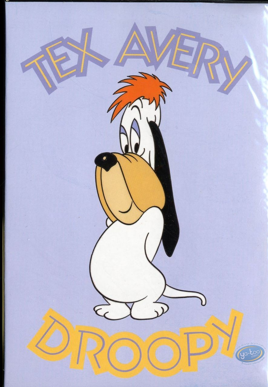 Office supply, Droopy : Stationery with envelopes, Tex Avery : Droopy (green)