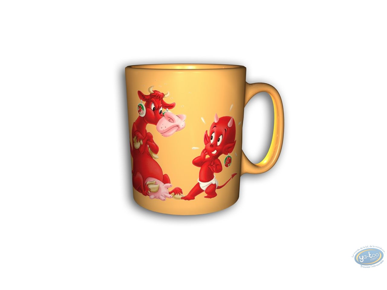 Tableware, Hot Stuff : Mug, Hot Stuff : Yellow mug