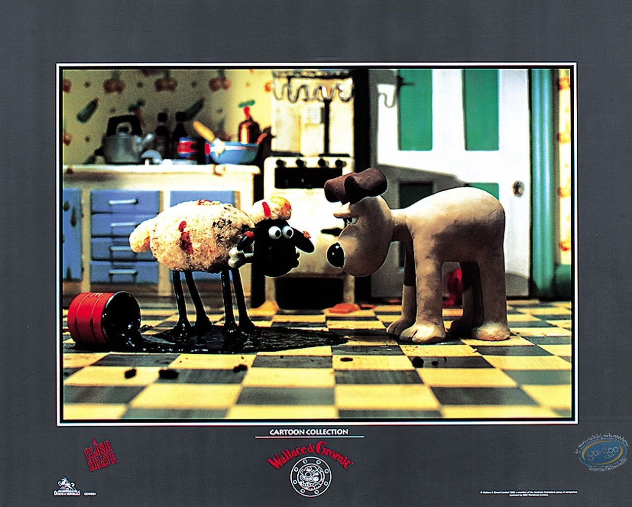 Offset Print, Wallace and Gromit : Gromit & Shaun
