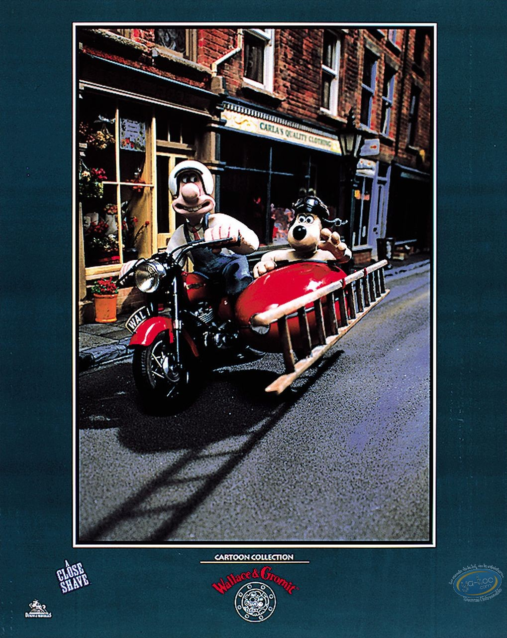 Offset Print, Wallace and Gromit : Side-car
