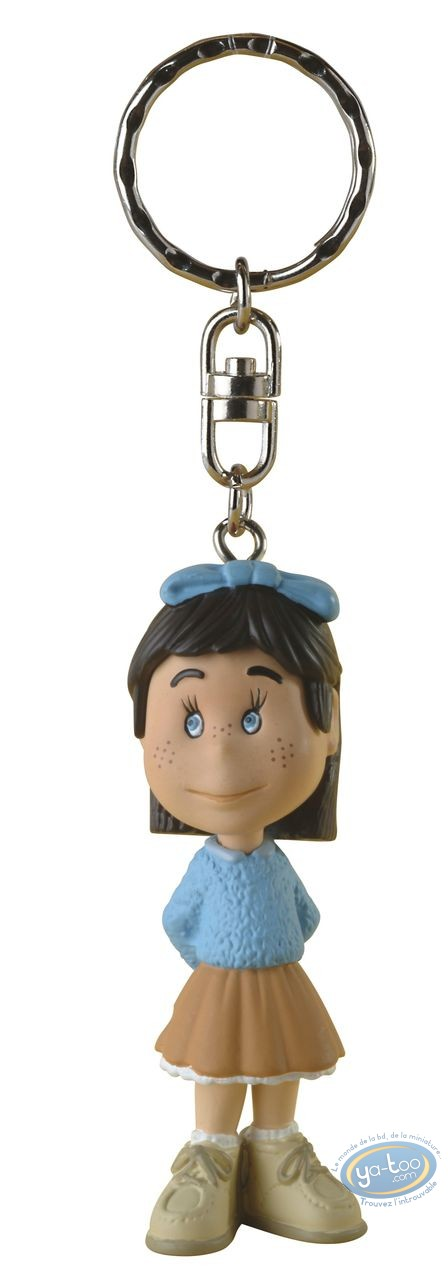 Plastic Figurine, Manège Enchanté (Le) : Key ring, The Magic Roundabout : Margotte