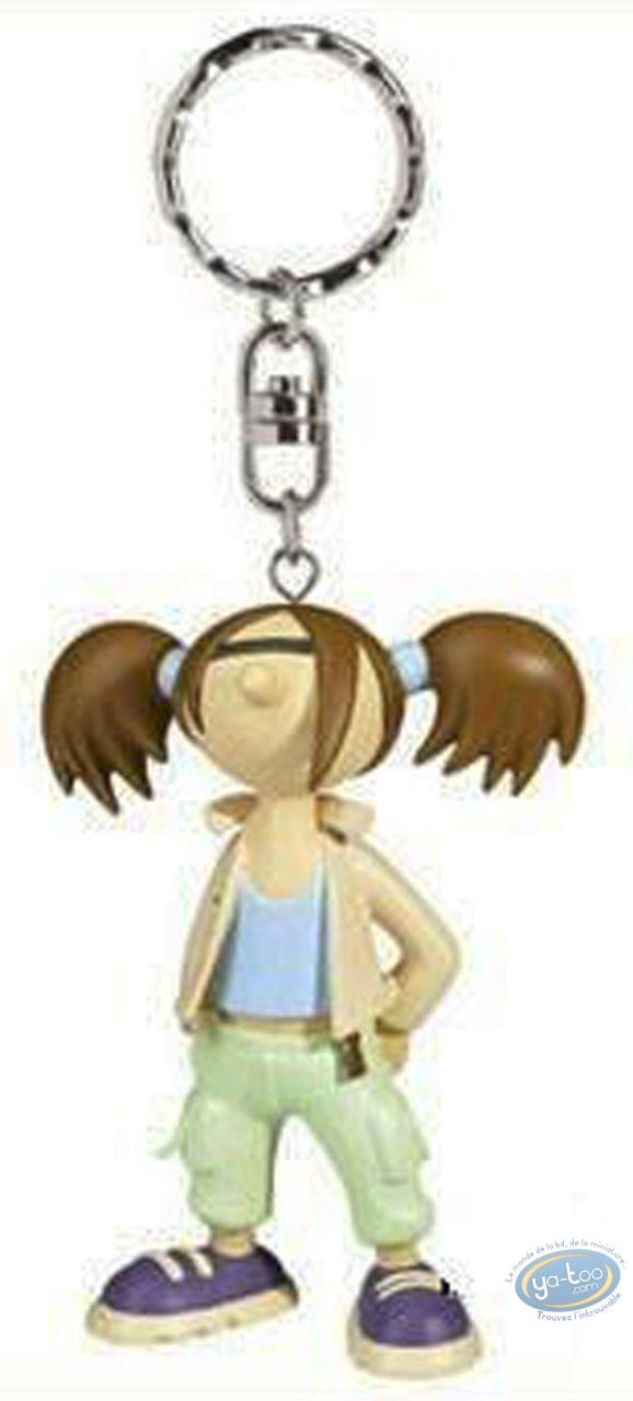 Plastic Figurine, Lili Varicelle : Key ring, Lili Varicelle (green trousers)