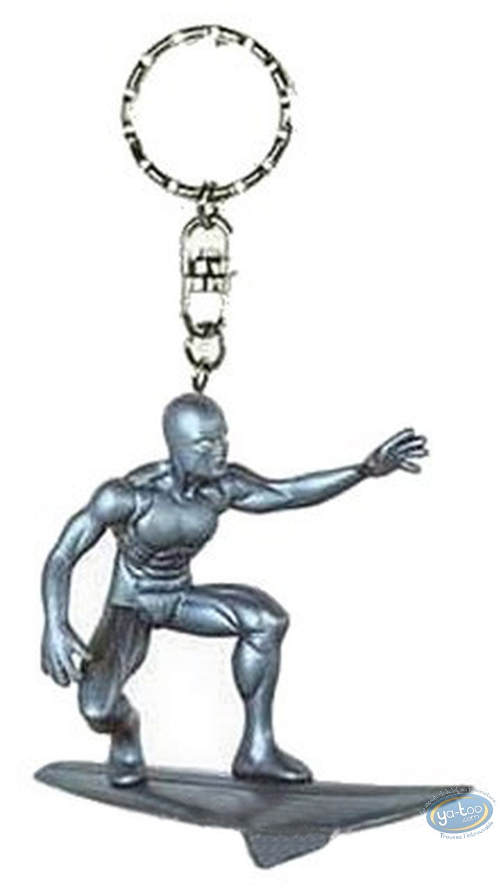 Plastic Figurine, Fantastic Four : Key ring, Silver Surfer