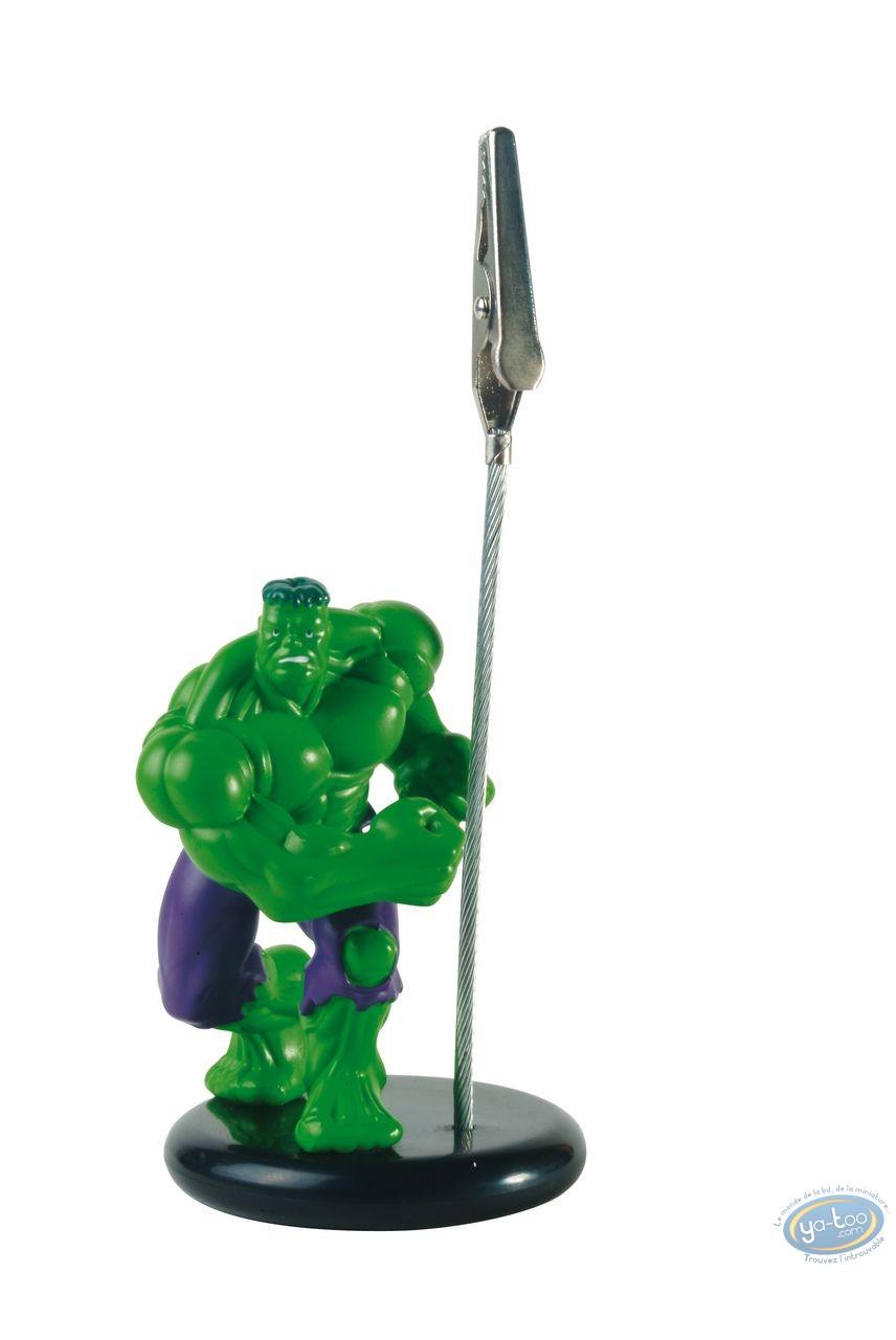 Deco, Hulk : Memo clip, Hulk