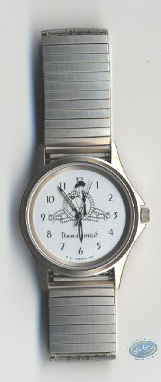 Clocks & Watches, Droopy : Watch Tex Avery Droopy metal strap