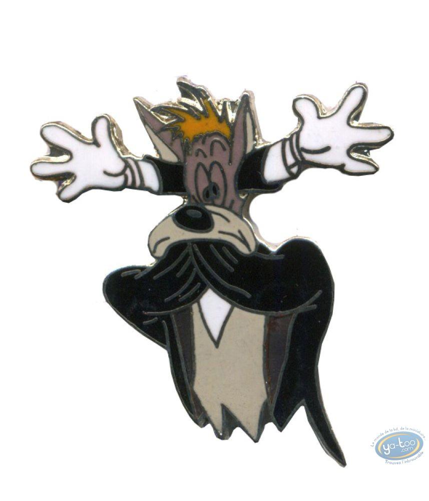 Pin's, Tex Avery : The wolf chokes - Tex Avery