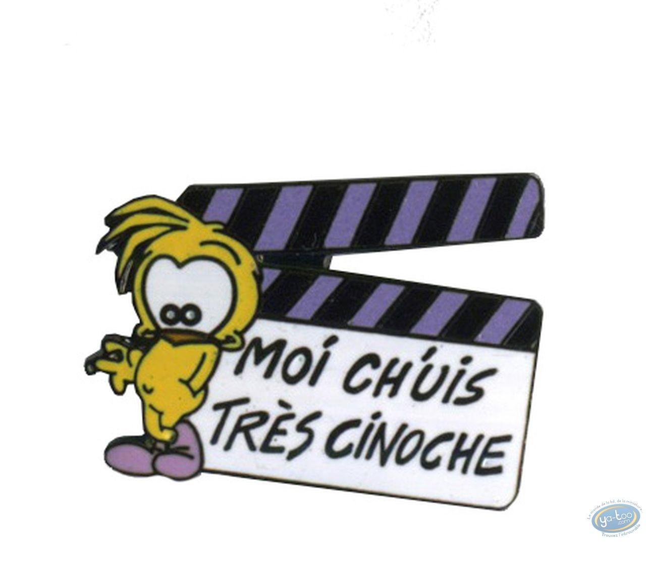 Pin's, Piaf (Le) : The Sparrow - I'm very cinema
