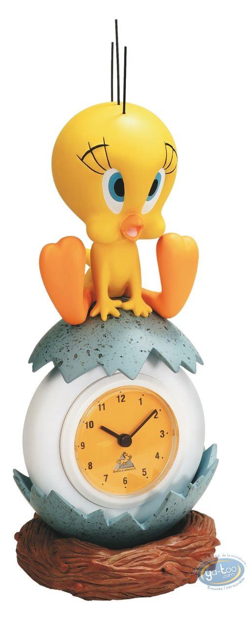 Resin Statuette, Titi : 3D resin clock Titi