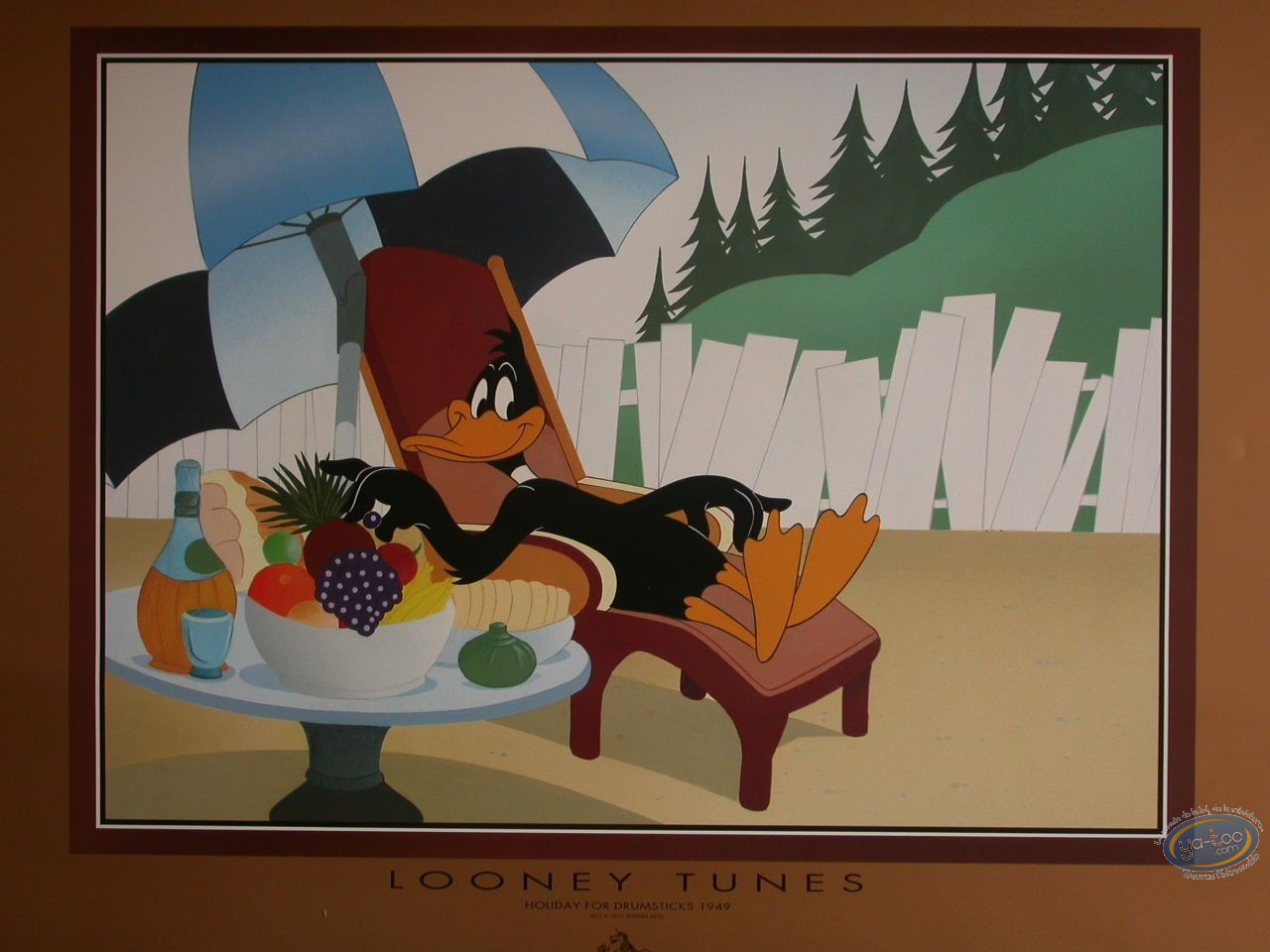Offset Print, Daffy Duck : Holiday for drumsticks
