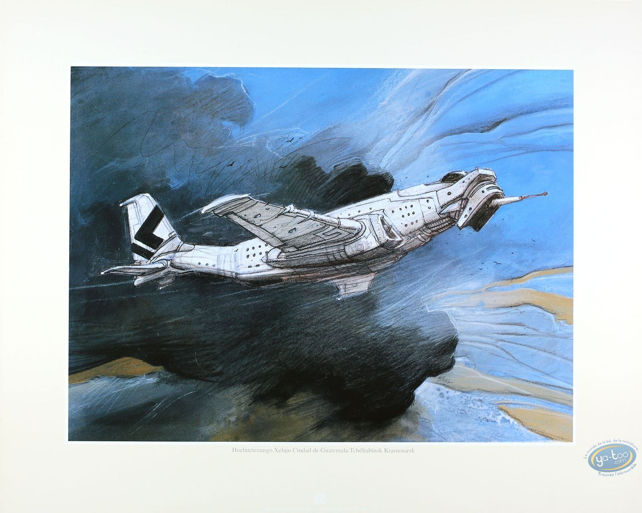 Offset Print, Trilogie Nikopol (La) : Bilal, Avion (grand)