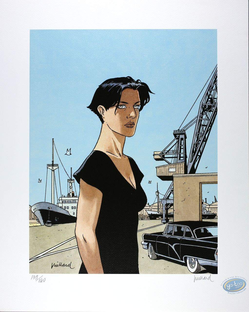 Offset Print, Long Voyage de Lena (Le) : The Harbour