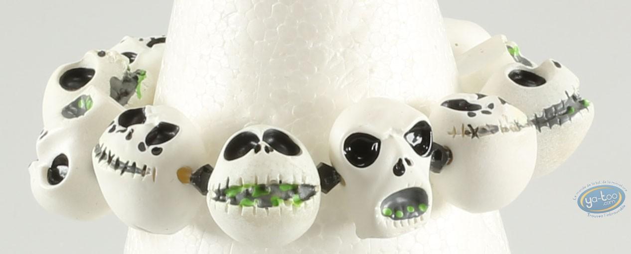 Costume jewelry, Etrange Noël de Mr. Jack (L') : Bracelet, The Nightmare Before Christmas Jack- Heads