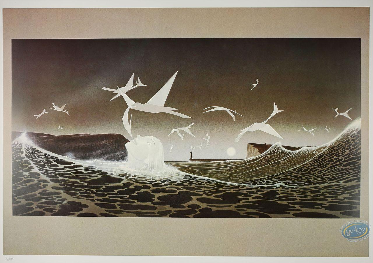 Offset Print, Paper Birds
