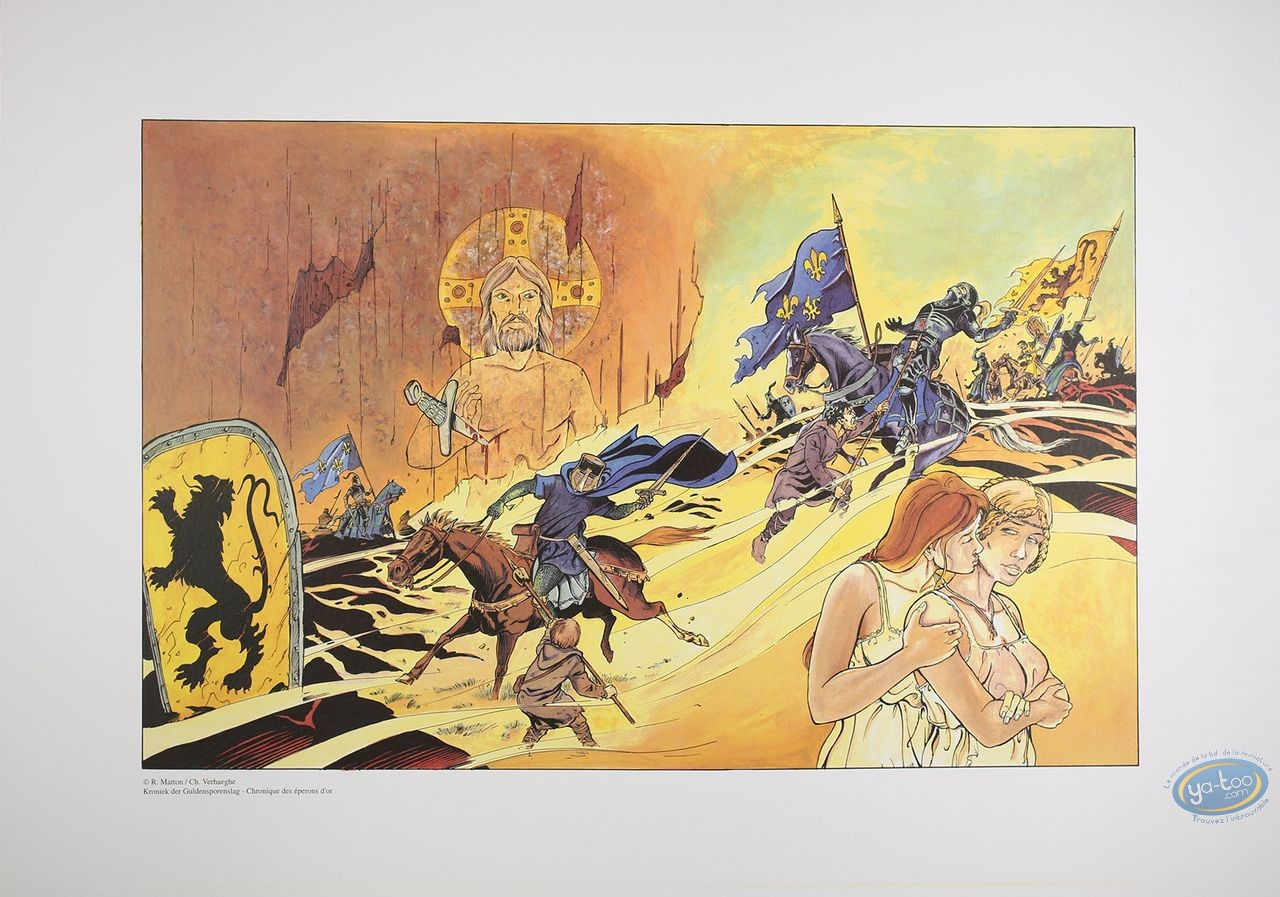 Offset Print, Chronique des Eperons d'Or : Matton, Chronique des éperons d'or