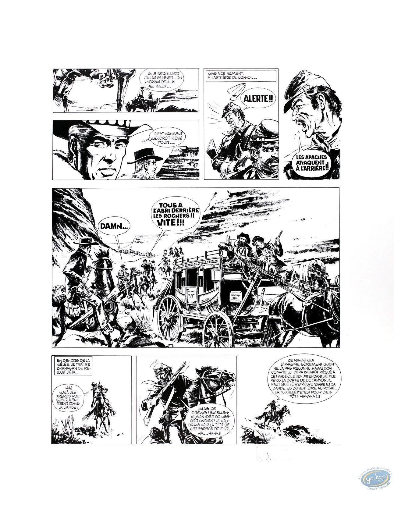 Offset Print, Ringo : William Vance : page 5 : Ringo 3