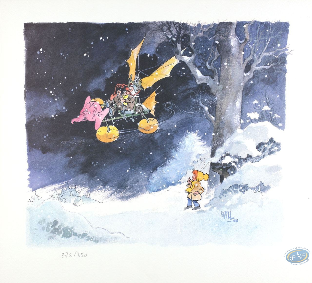Offset Print, Isabelle : The Flying Machine