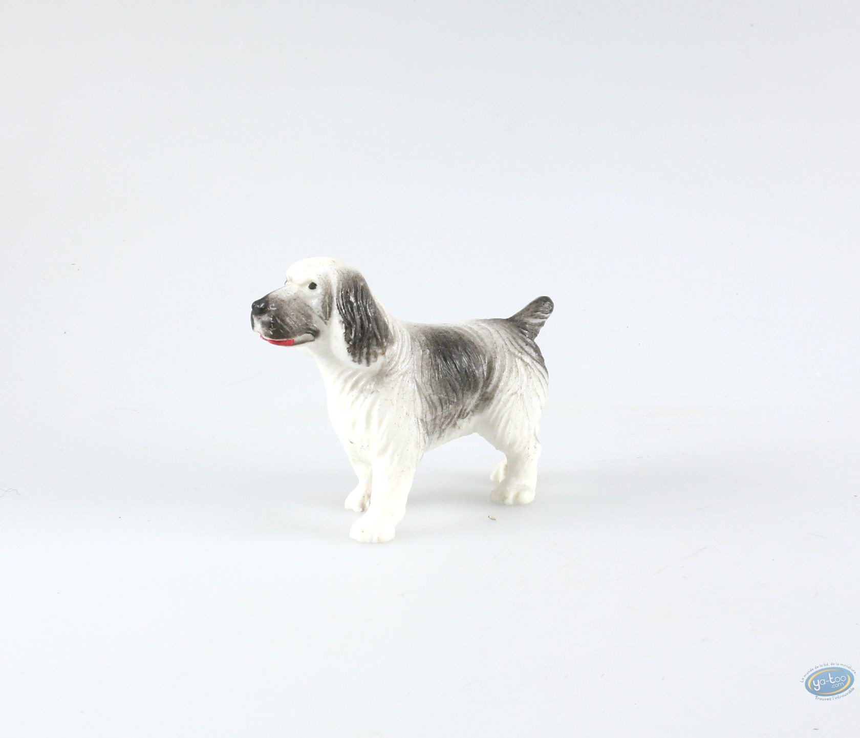buy online plastic figurine animaux les dog spaniel. Black Bedroom Furniture Sets. Home Design Ideas