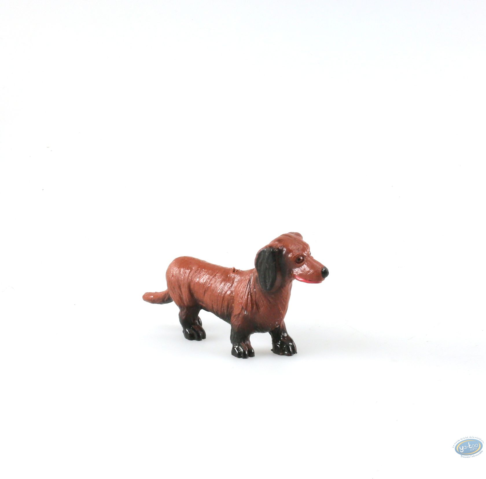 buy online plastic figurine animaux les dog dachshund. Black Bedroom Furniture Sets. Home Design Ideas
