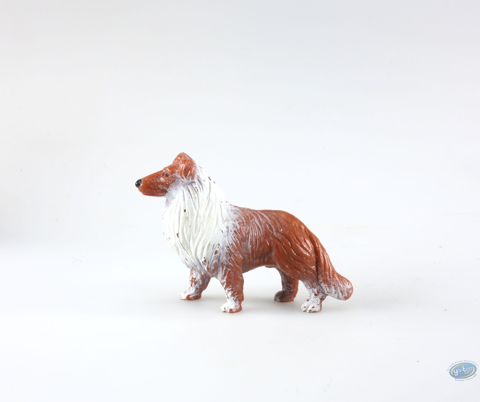 buy online plastic figurine animaux les dog collie. Black Bedroom Furniture Sets. Home Design Ideas