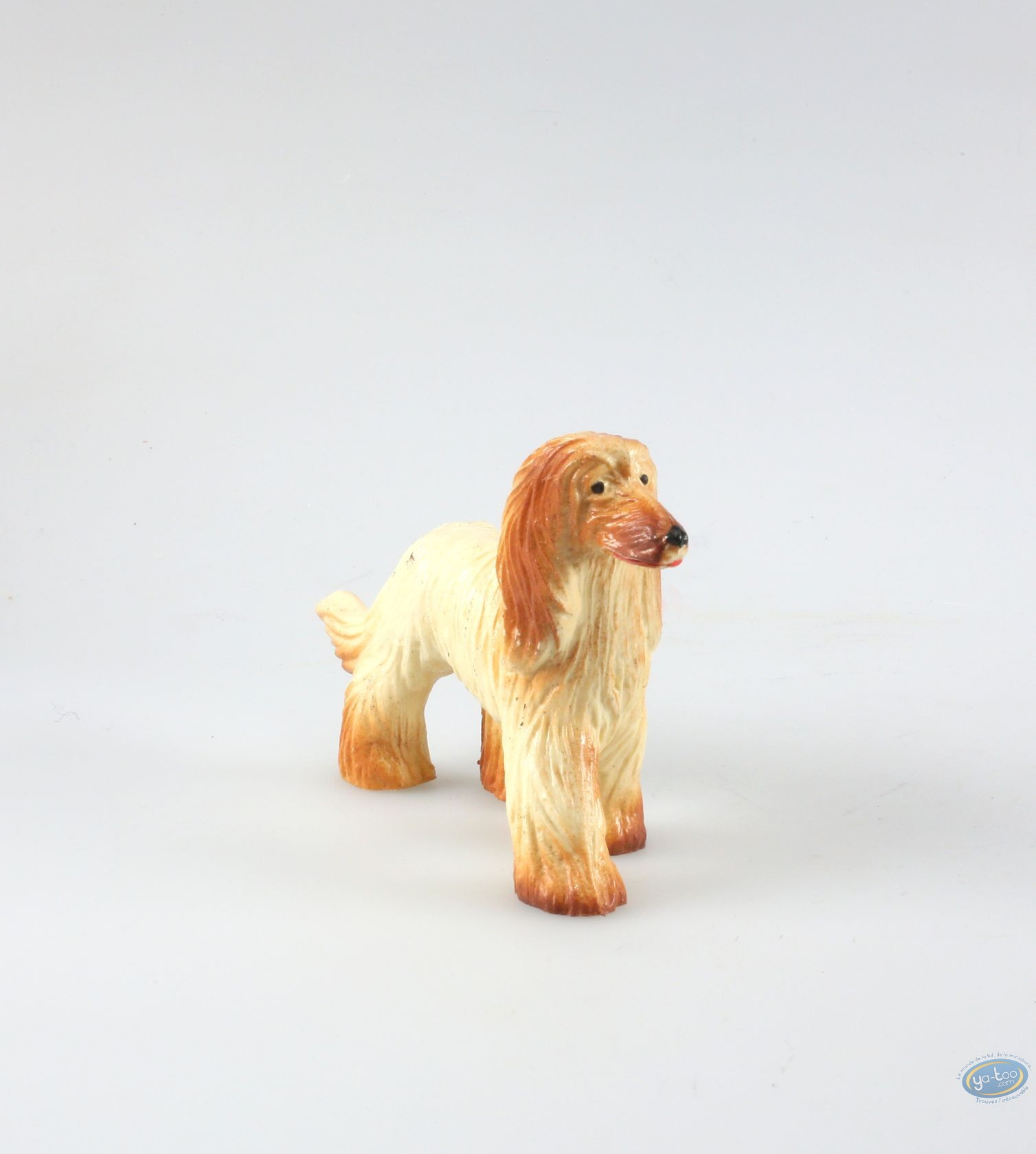 buy online plastic figurine animaux les dog afghan hound. Black Bedroom Furniture Sets. Home Design Ideas
