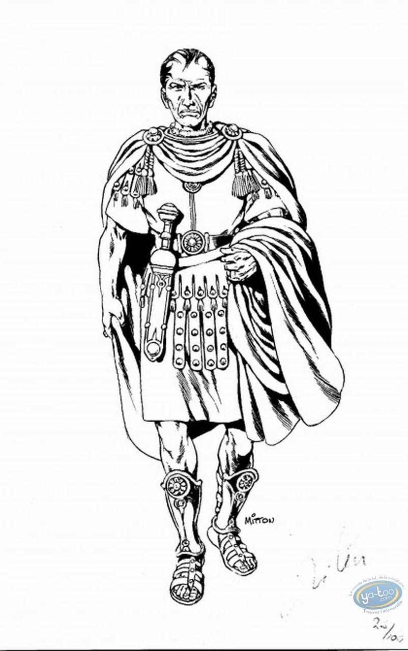 Bookplate Offset, Vae Victis : Caesar