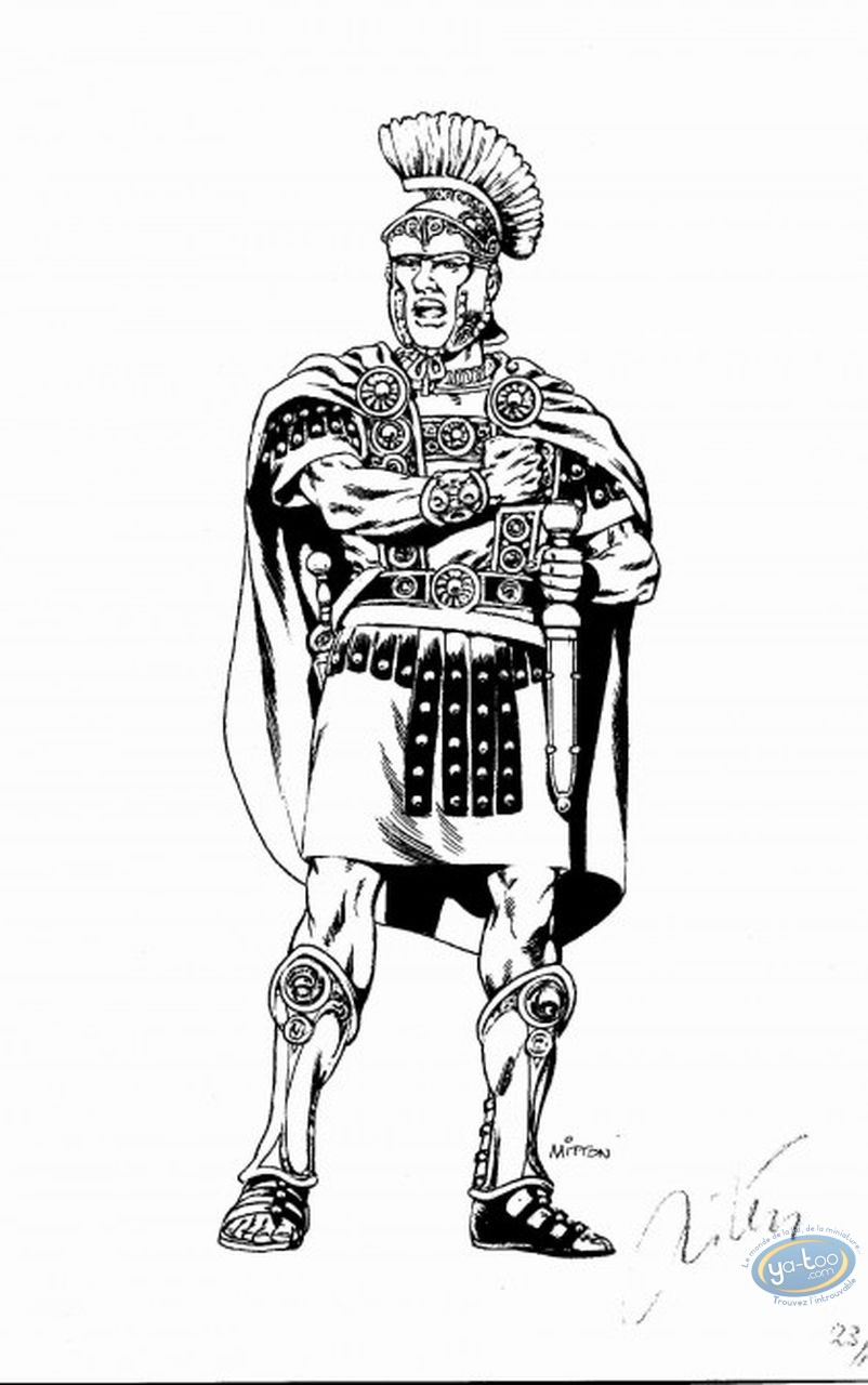 Bookplate Offset, Vae Victis : Centurion