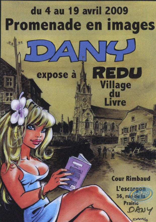 Post Card, Olivier Rameau : Dany exhibits at Redu 2009