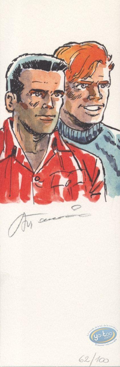Bookplate Offset, Bob Morane : Bob & Bill