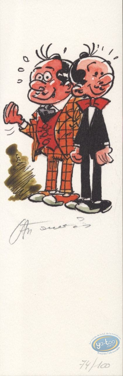 Bookplate Offset, Spaghetti : The 2 heroes