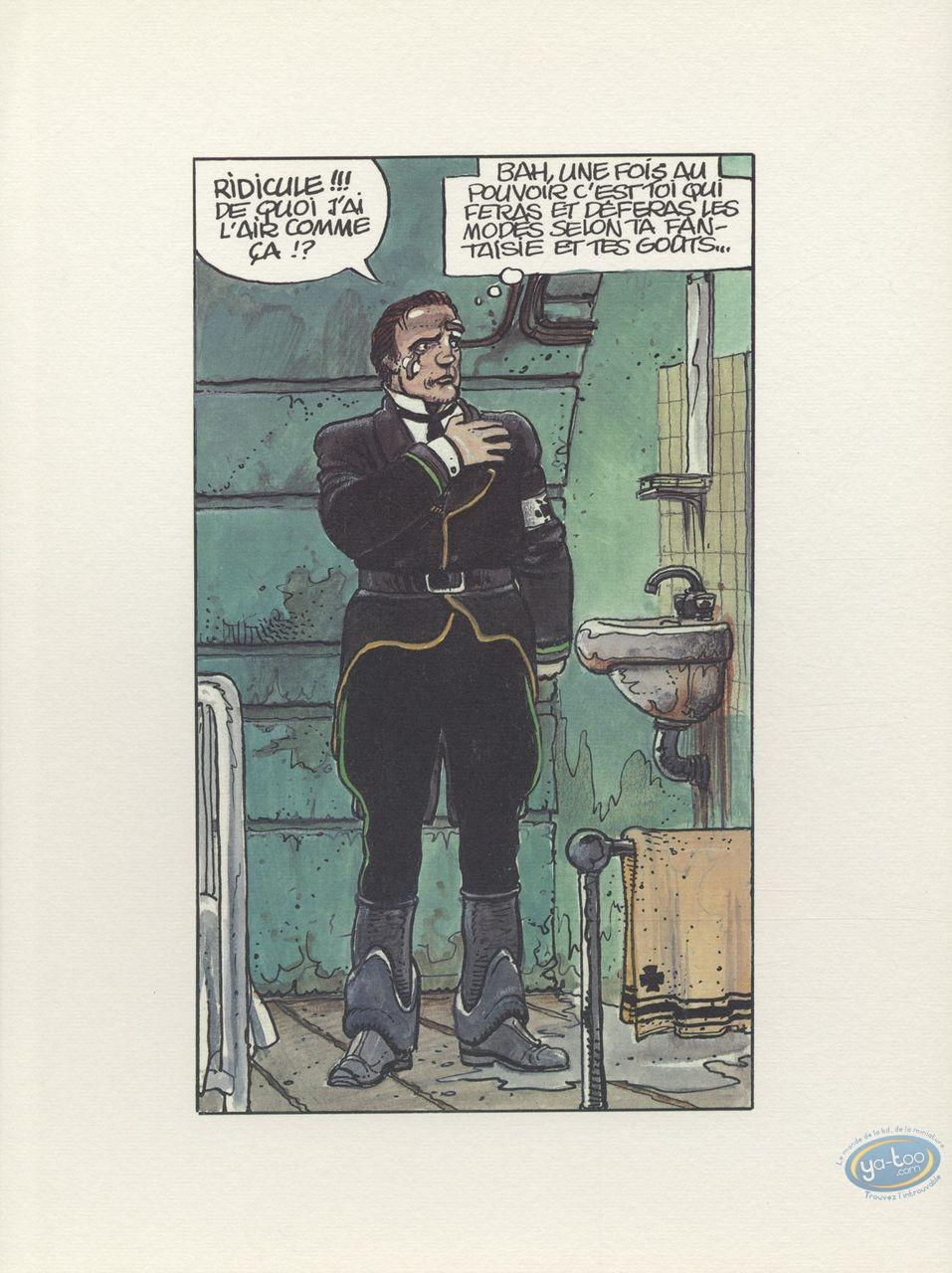Offset Print, Trilogie Nikopol (La) : Man in black