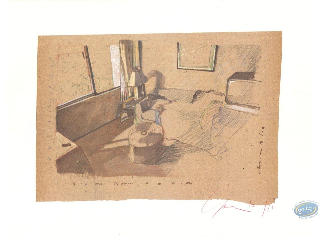 Offset Print, Charlelie Couture : Hotel Room, Same Room