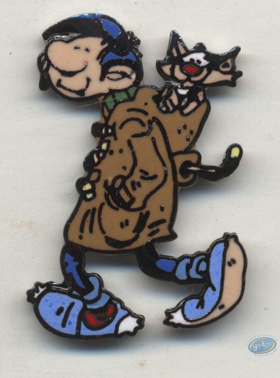 Pin's, Gaston Lagaffe : Pin's, Franquin, Gaston : Gaston Duffelcoat